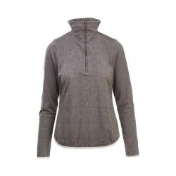 Women's Woolrich Eco Rich New Heights Half Zip Pullover Ash Heather (4 options available)