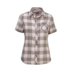 Women's Woolrich Northern Hills Short Sleeve Plaid Shirt Balsam Green