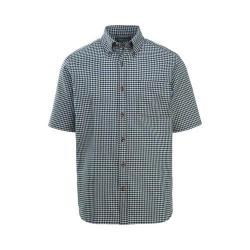 Men's Woolrich Weyland View Short Sleeve Shirt Deep Indigo