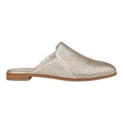 Women's Kenneth Cole New York Roxanne Mule Soft Gold Perforated Leather
