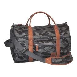 Men's Buxton Expedition II Huntington Gear Convertible Duffel Grey
