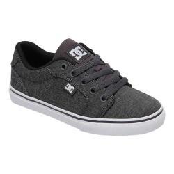 Boys' DC Shoes Anvil Skate Shoe Dark Grey/White