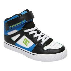 Boys' DC Shoes Pure Hi-Top SE EV Blue/Black/White