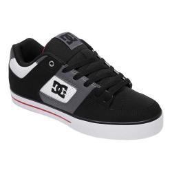 Men's DC Shoes Pure Skate Shoe White/Black/Red