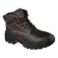 Men's Skechers Work Relaxed Fit Burgin Congaree Boot Brown