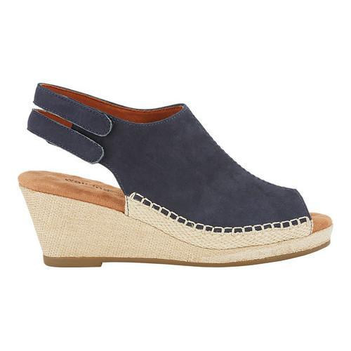 Walking Cradles Anikka Wedge Slingback(Women's) -Black Nubuck Buy Cheap Footlocker Clearance Clearance Cheap Pay With Paypal Sale Very Cheap Visa Payment Online xFmGjyzS