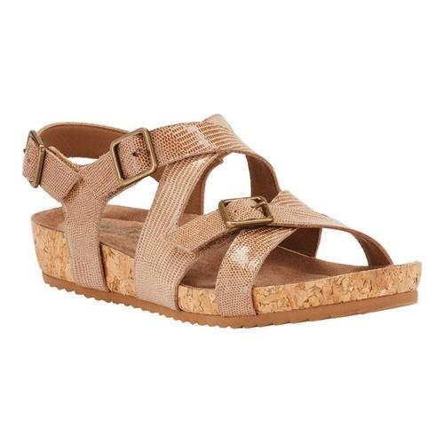 Walking Cradles Pacific Strappy Cork Sandal (Women's) C2HpbvdpXK