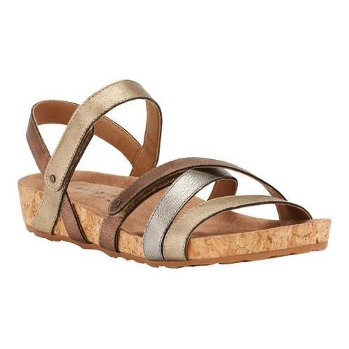 37d19a4084f Women s Walking Cradles Pool Strappy Sandal Metallic Multi Cork - Free  Shipping Today - Overstock - 26345146