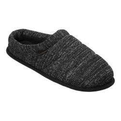 Men's Dearfoams Quilted Clog Slipper Black Multi (4 options available)