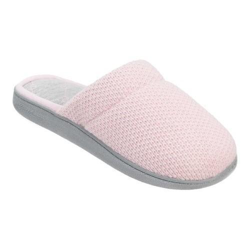 Dearfoams Textured Knit Closed Toe Scuff Slipper (Women's)