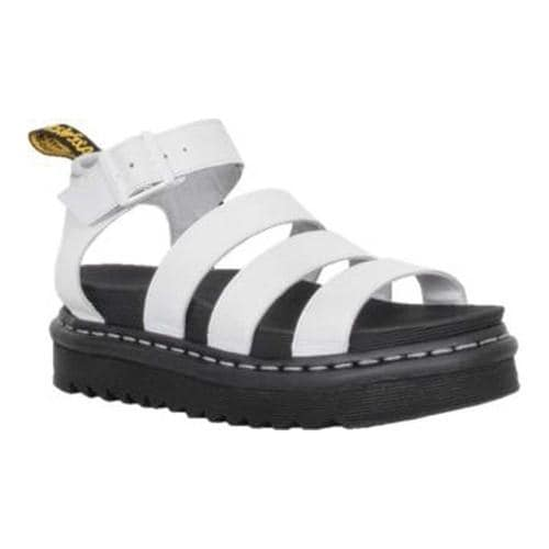 e20aeddc92e5cd Shop Women s Dr. Martens Blaire Strappy Sandal White Softy T Full Grain  Leather - Free Shipping Today - Overstock - 20516483