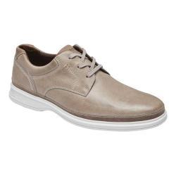 Men's Rockport Dressports 2 Go Plain Toe Sneaker Rocksand Leather