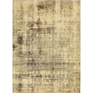 Hand Knotted Ultra Vintage Antique Wool Area Rug - 8' 4 x 11' 4