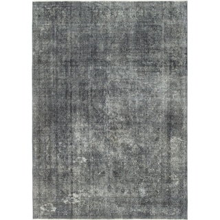 Hand Knotted Ultra Vintage Wool Area Rug - 9' 4 x 13'