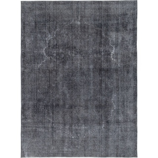 Hand Knotted Ultra Vintage Wool Area Rug - 9' 6 x 12' 6