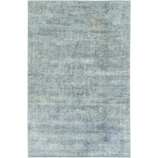 Hand Knotted Ultra Vintage Wool Area Rug - 5' 8 x 8' 6