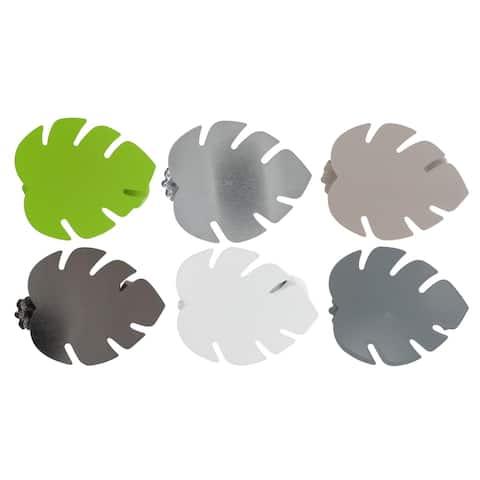 Evideco Tropique Metal Leave Clip Set of 2 - n/a