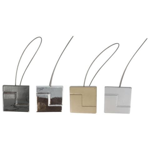 Evideco Equilibre Resin Square Tieback With Magnet - n/a