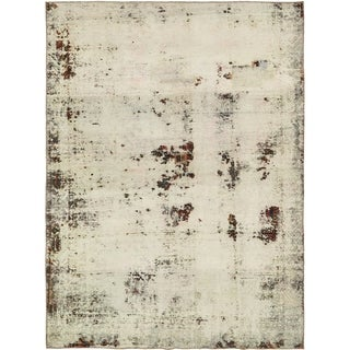 Hand Knotted Ultra Vintage Antique Wool Area Rug - 6' 6 x 8' 8