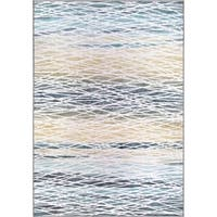 "Orian Rugs Symmetry Resistance Light Mineral Area Rug - 7'1"" x 1'1"""