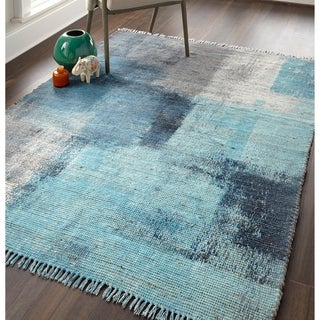 "Grand Bazaar Shira Blue/Gray Rug (2'3"" x 3'9"") - 2'3"" x 3'9"""
