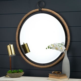 Janie Rope Accent Wall Mirror