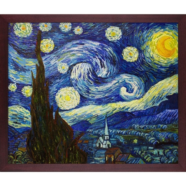 Vincent Van Gogh 'starry Night' Hand Painted Oil Reproduction by La Pastiche