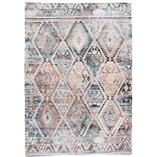 Grand Bazaar Anata Tan/Multi Rug (5' x 7') - 5' x 7'