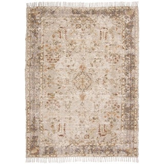 "Grand Bazaar Shira Beige/Multi Rug - 3'6"" x 5'6"""