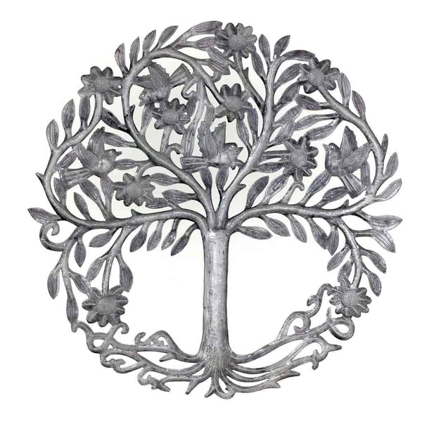 Handmade Rooted Tree Of Life Wall Art Haiti