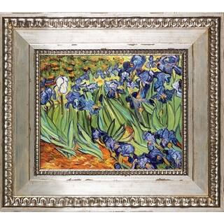 Vincent Van Gogh 'Irises' Hand Painted Oil Reproduction