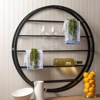 The Gray Barn Wilset Wall-mounted Wine Rack