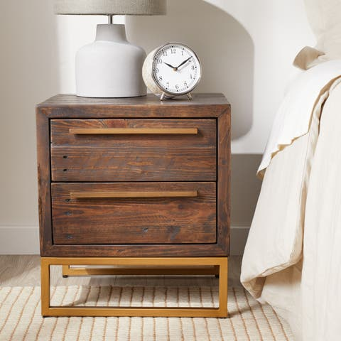 Carbon Loft Monterey 2-drawer Nightstand