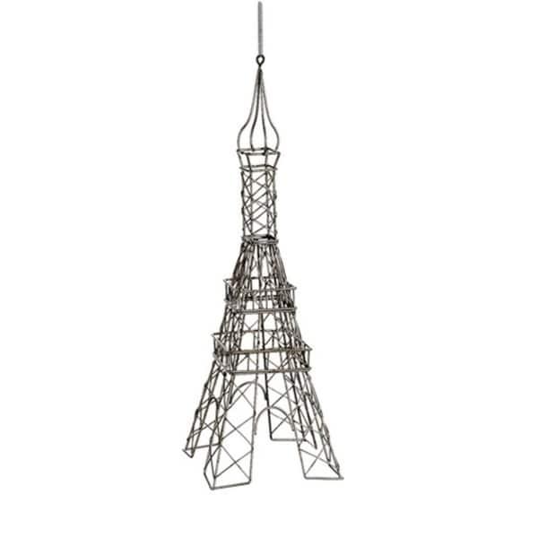 "18"" Metallic Champagne Parisian Eiffel Tower Table Top Decoration"