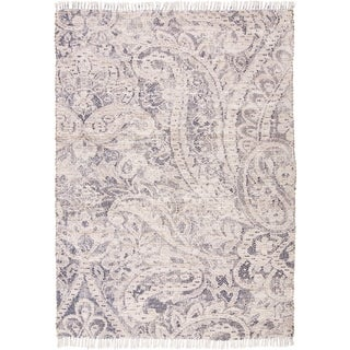 "Grand Bazaar Shira Ivory/Blue Rug - 3'6"" x 5'6"""