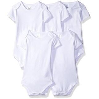 5 pack Bodysuit, White
