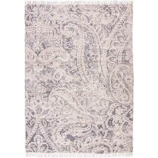 Grand Bazaar Shira Ivory/Blue Rug (5' x 7') - 5' x 7'