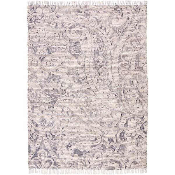 "Grand Bazaar Shira Ivory/Blue Rug (2'3"" x 3'9"") - 2'3"" x 3'9"""