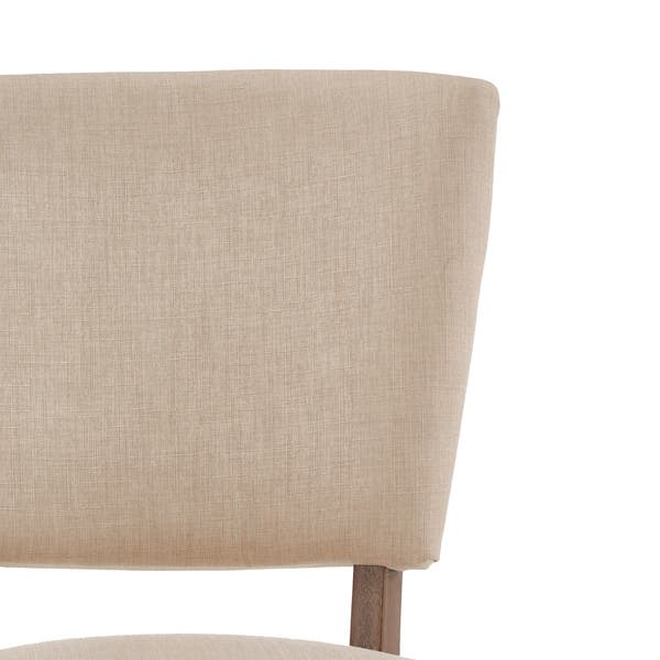 Outstanding Shop Rawlings Beige Linen Nailhead Dining Chairs Set Of 2 Bralicious Painted Fabric Chair Ideas Braliciousco