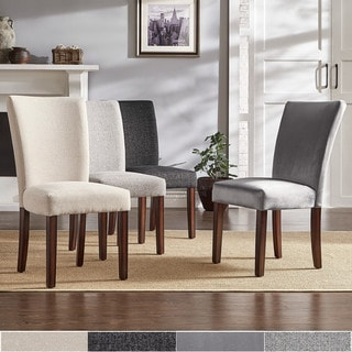 Link to Carson Carrington Siauliai Upholstered Parson Dining Chair (Set of 2) Similar Items in Dining Room & Bar Furniture