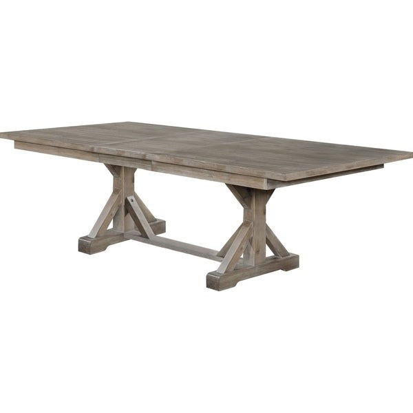 Quality Kitchen Tables: Shop Best Quality Furniture Rustic Grey Rectangular