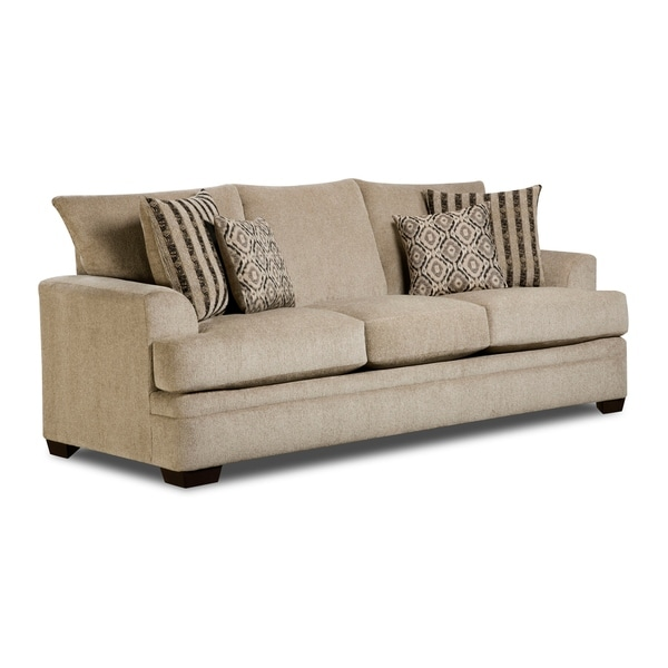 Drayton Sofa (Dark Grey/ Sand)