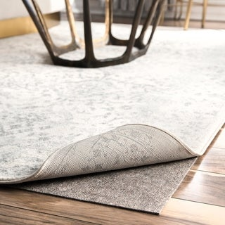 Porch & Den Caheunga Grey Eco-friendly Non-slip Thick Felt Rug Pad
