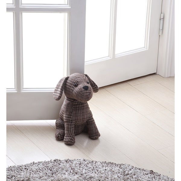 Asher Home Brownie the Brown Dog Door Stopper