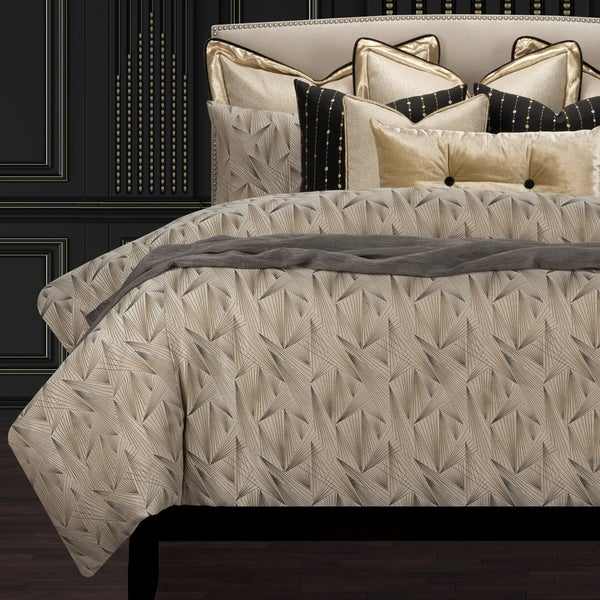 F. Scott Fitzgerald Fine Point Sable Luxury Duvet Cover and Insert Set. Opens flyout.
