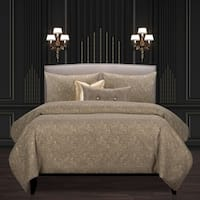 F Scott Fitzgerald Garden Party Bronze Luxury Bedding Set