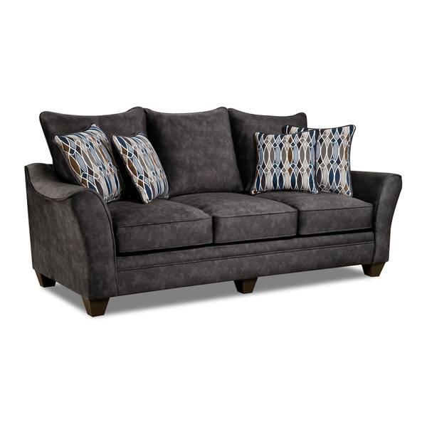 Astounding Shop Kensington Faux Suede Sofa Brown Grey Blue Free Pabps2019 Chair Design Images Pabps2019Com