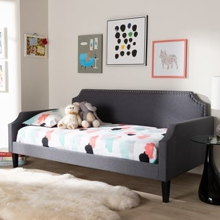 Contemporary Fabric Daybed by Baxton Studio