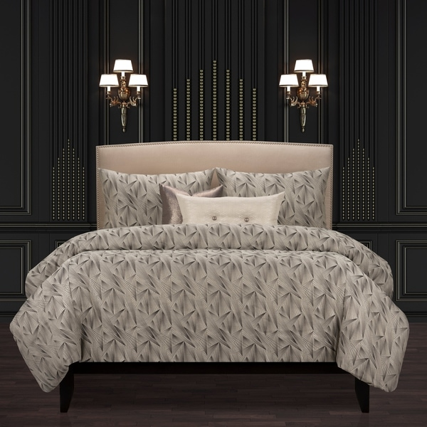 F Scott Fitzgerald Fine Point Graphite Luxury Duvet Cover and Insert Set. Opens flyout.