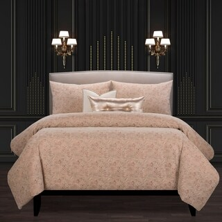 F Scott Fitzgerald Garden Party Rose Luxury Bedding Set